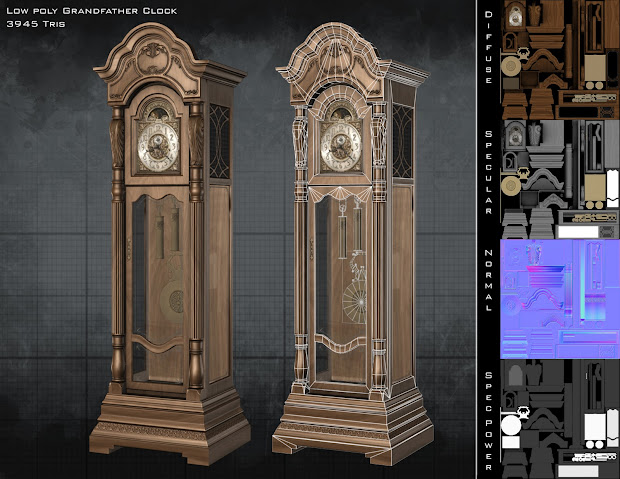 Minecraft Grandfather Clock Design - Year of Clean Water