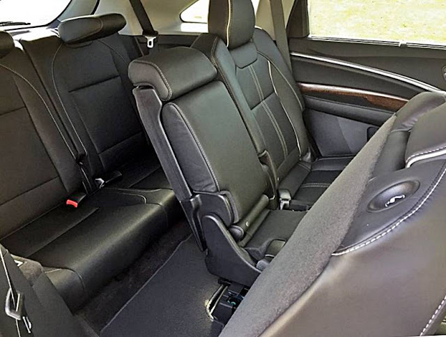 2017 Acura MDX Quick Look: Rear Seats