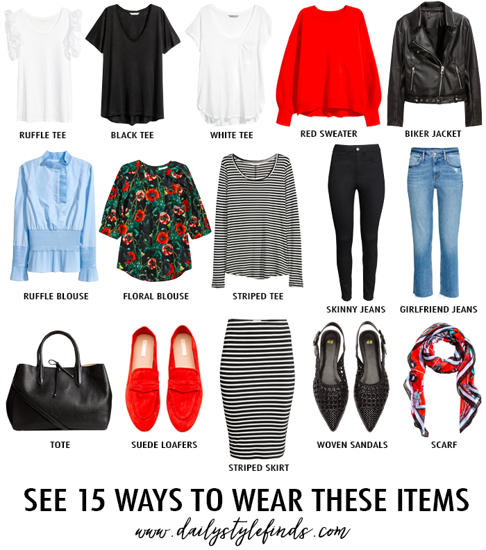 how to build closet staples