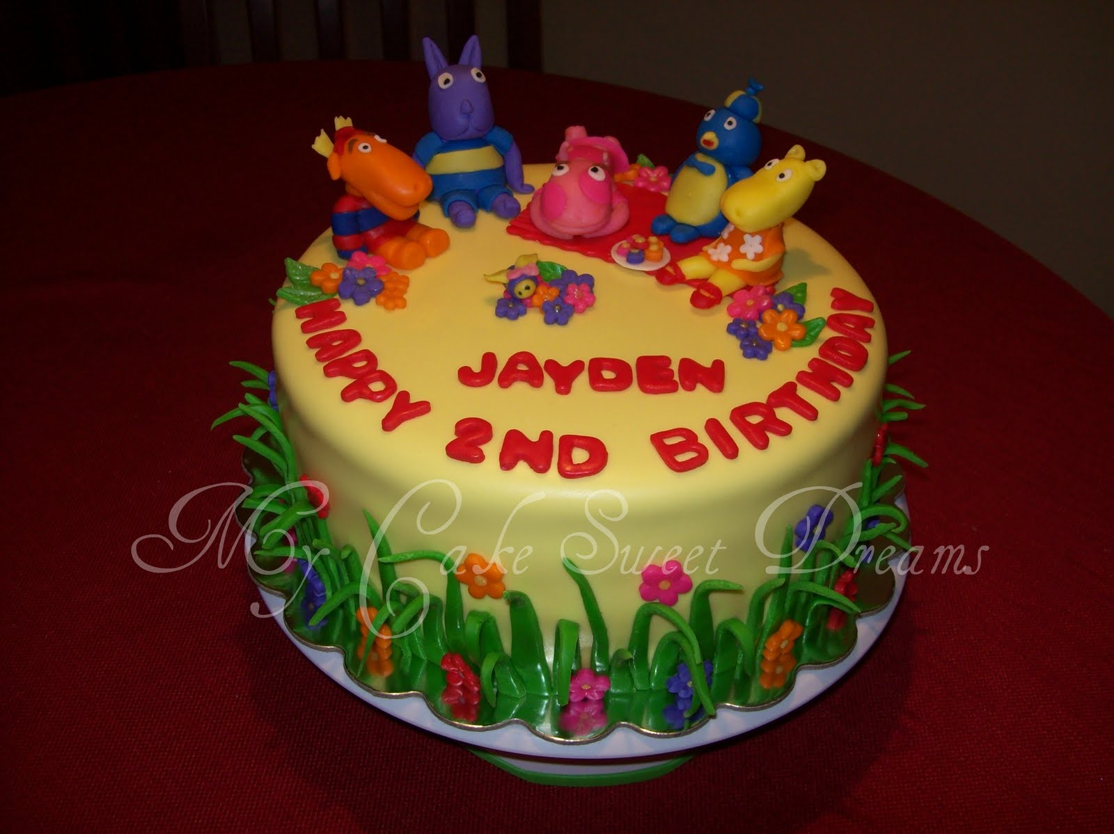 Mycakesweetdreams Backyardigans Cake