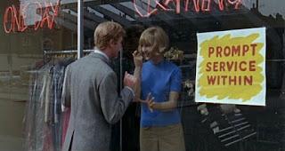 Pauline Boty, Michael Caine, Alfie (1966)