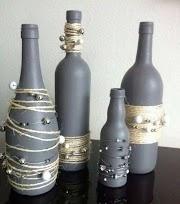 Reciclando botellas - 10 Ideas hermosas