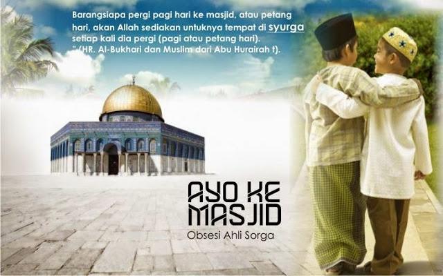 Bacaan Doa Pergi Ke Masjid Sesuai Sunnah