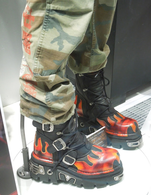 Michelle Rodriguez Fast and Furious costume boots