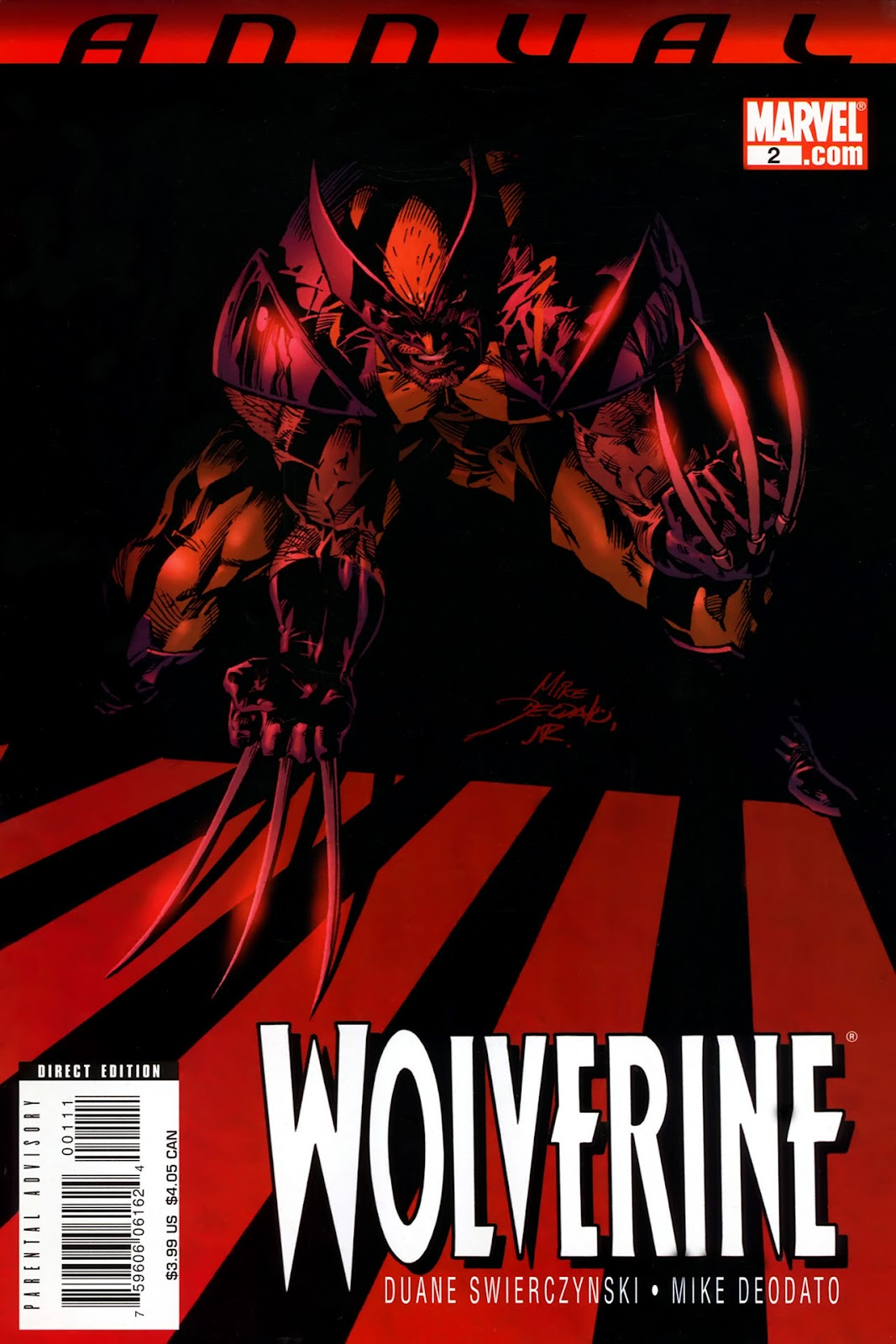 Read online Wolverine (2003) comic -  Issue # Annual 2 - 1