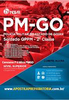 Apostila PMGO 2015, Soldado QPPM - 2ª Classe de Goiás.