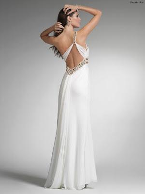 Vestidos de Noche sin Espalda