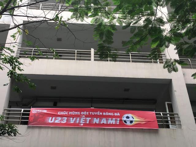 Đại học Duy Tân Đà Nẵng chiếu bóng đá tập trung tại cơ sở đường Quang Trung