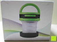 Verpackung Seite: OUTAD 2-in-1 Outdoor Wireless Bluetooth Lautsprecher & LED Lampe mit eingebautem Mikrofon, einstellbarem Licht und Broadcom 3.0