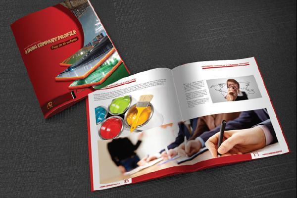 In profile công ty đẹp, hồ sơ năng lực, sách giới thiệu công ty Á Đông