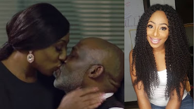 The reason why Dakore lovely kissed RMD