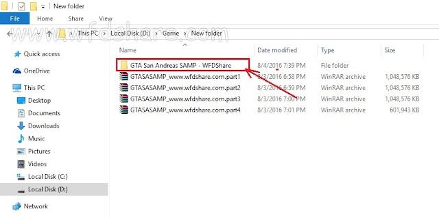 Cara Ekstrak File Menggunakan Winrar