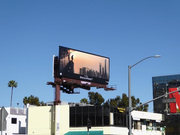Shot on iPhone 7 Jennifer B billboard