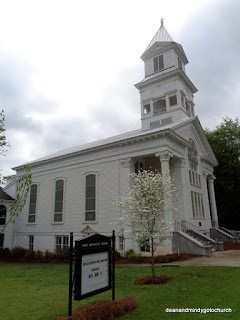 Eatonton first methodist church