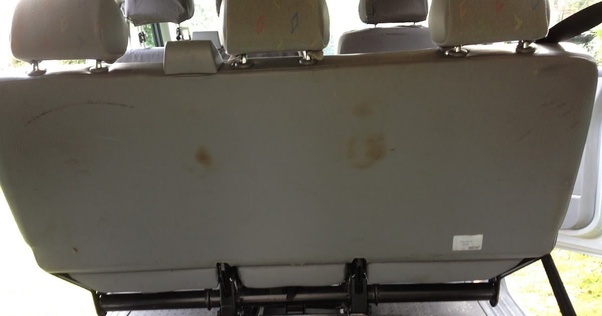 Removing the Rear Seat | VW T5 Van Conversion