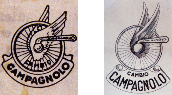 Bikeville thoughts: new computer- Campagnolo logos