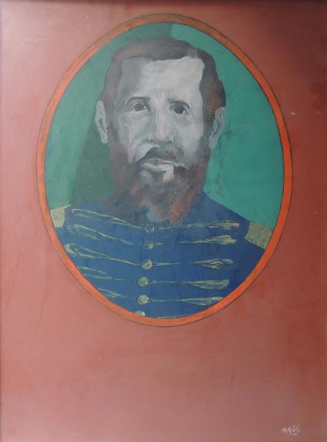 Pablo Mañé arte latinoamericano pintura surrealista general romántico