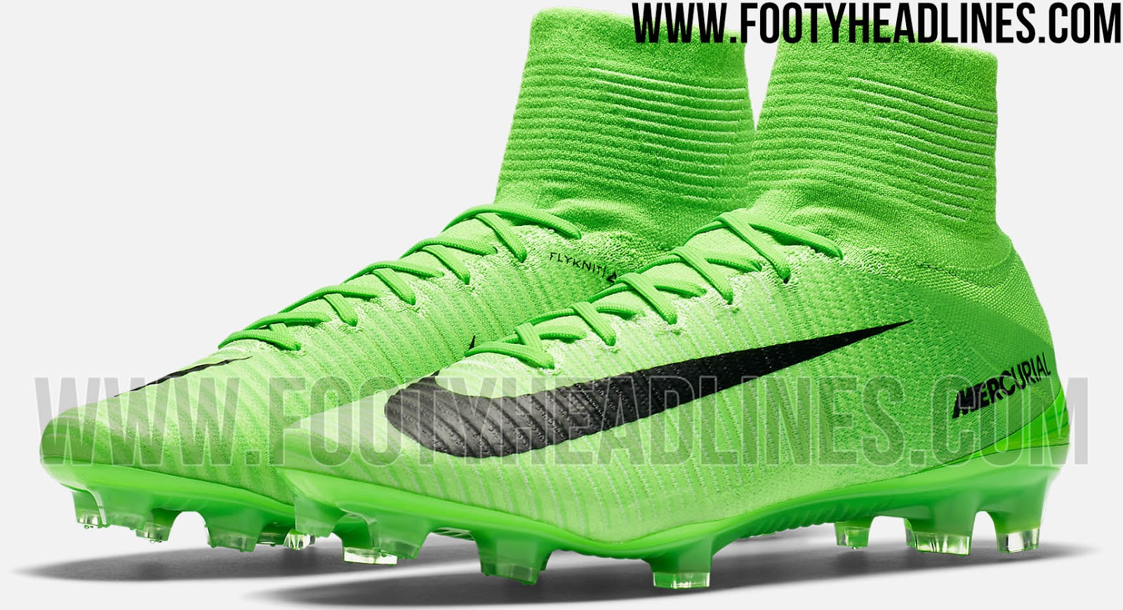 separation shoes bb6e1 9d56e Known as Electric Green Black, the green Nike Mercurial Superfly 5 2017 .  ...