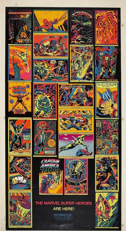 Marvel Third Eye Posters, by Nick Derington.
