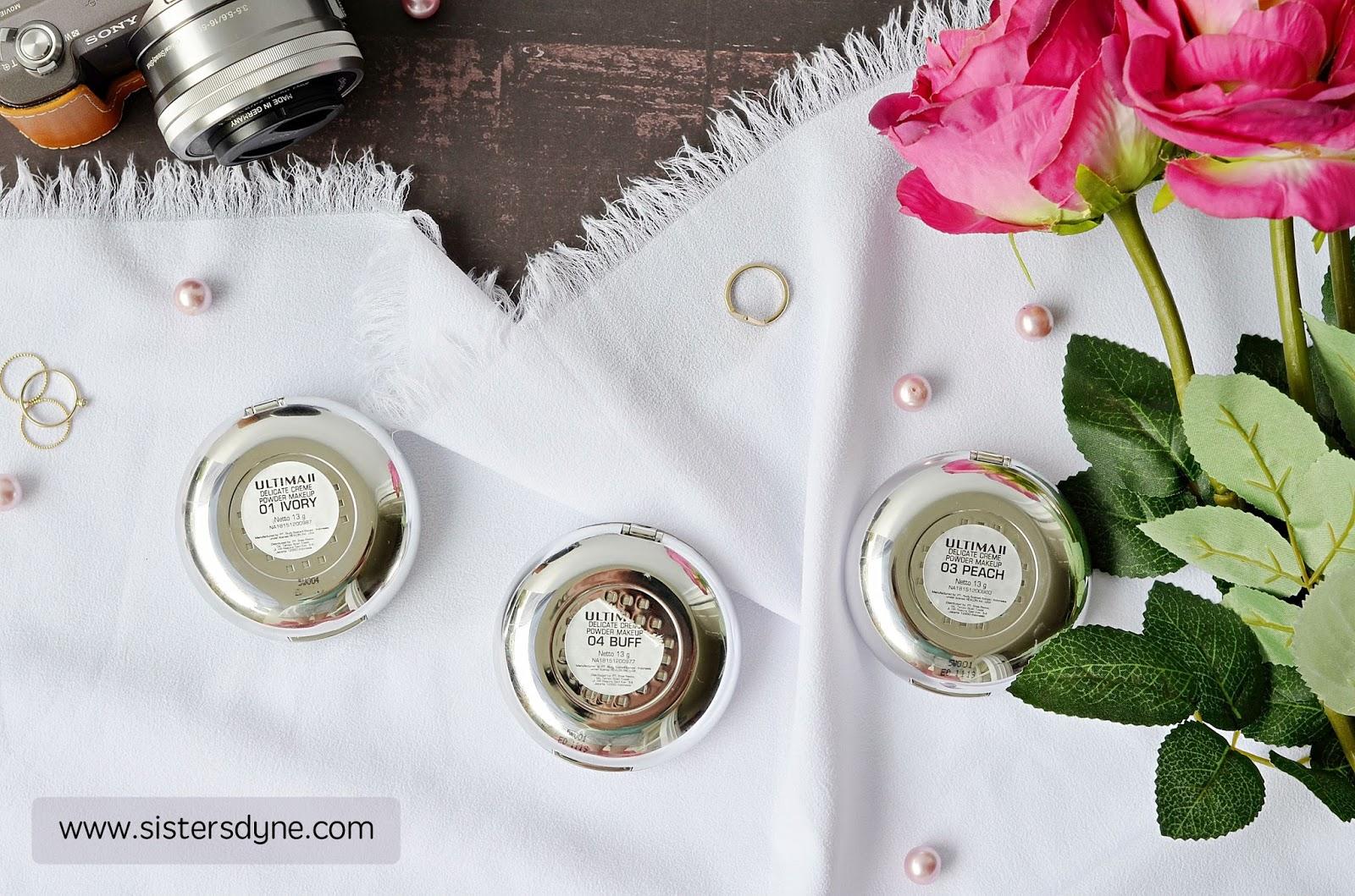 Ultima Ii Delicate Creme Makeup Ocher Daftar Harga Terbaru Translucent Face Powder 24g And