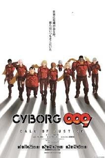 detail, pengisi suara, OST, nonton trailer anime sinopsis anime Cyborg 009: Call of Justice 2 (2016)