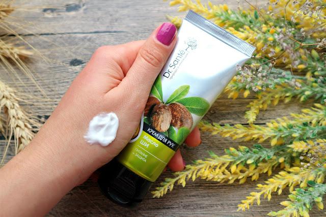 Крем для рук Dr.Sante Питание и защита с 10% масла Ши