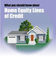 Home Equity Loans, lines of credit