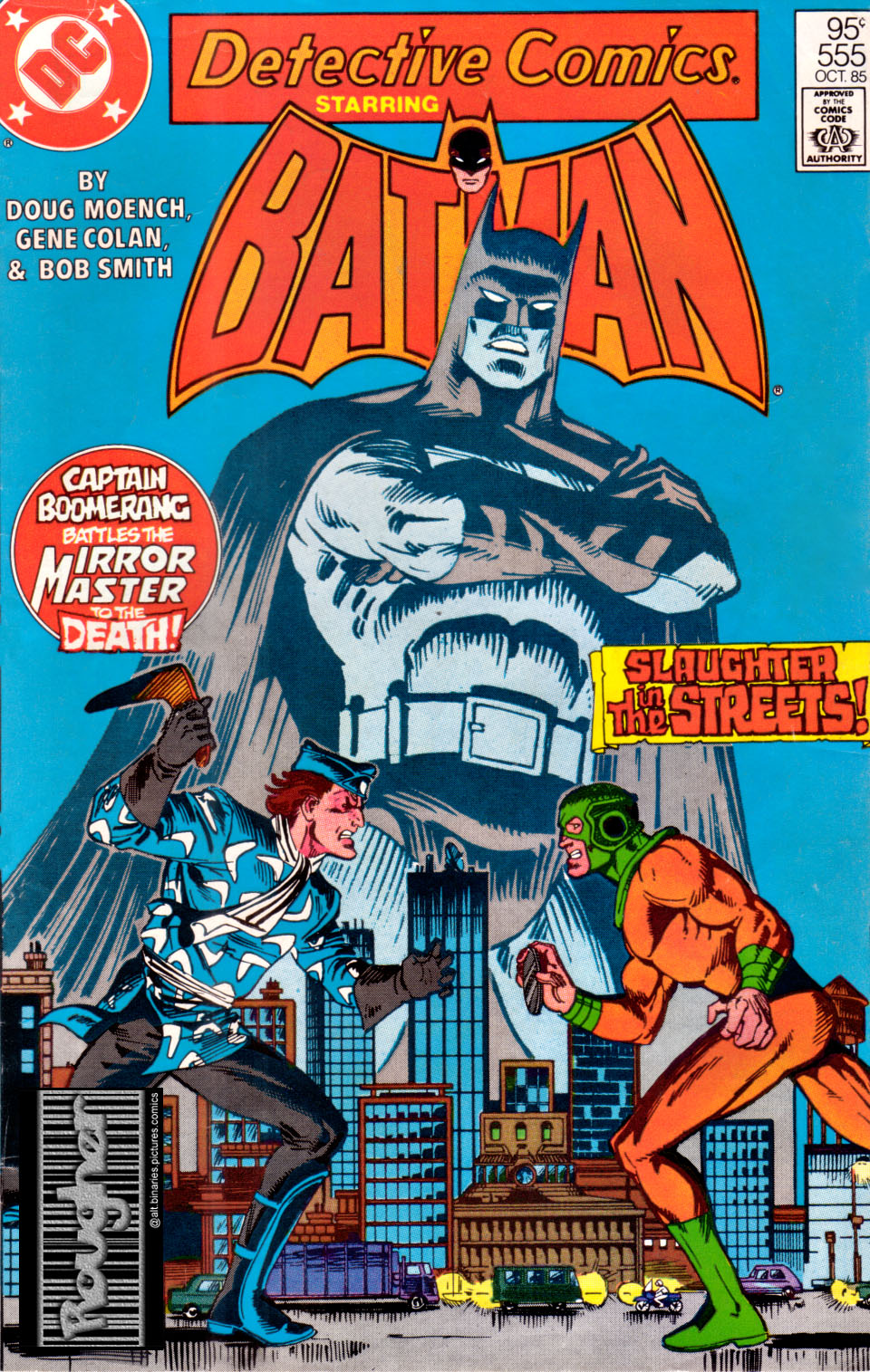 Detective Comics (1937) 555 Page 1