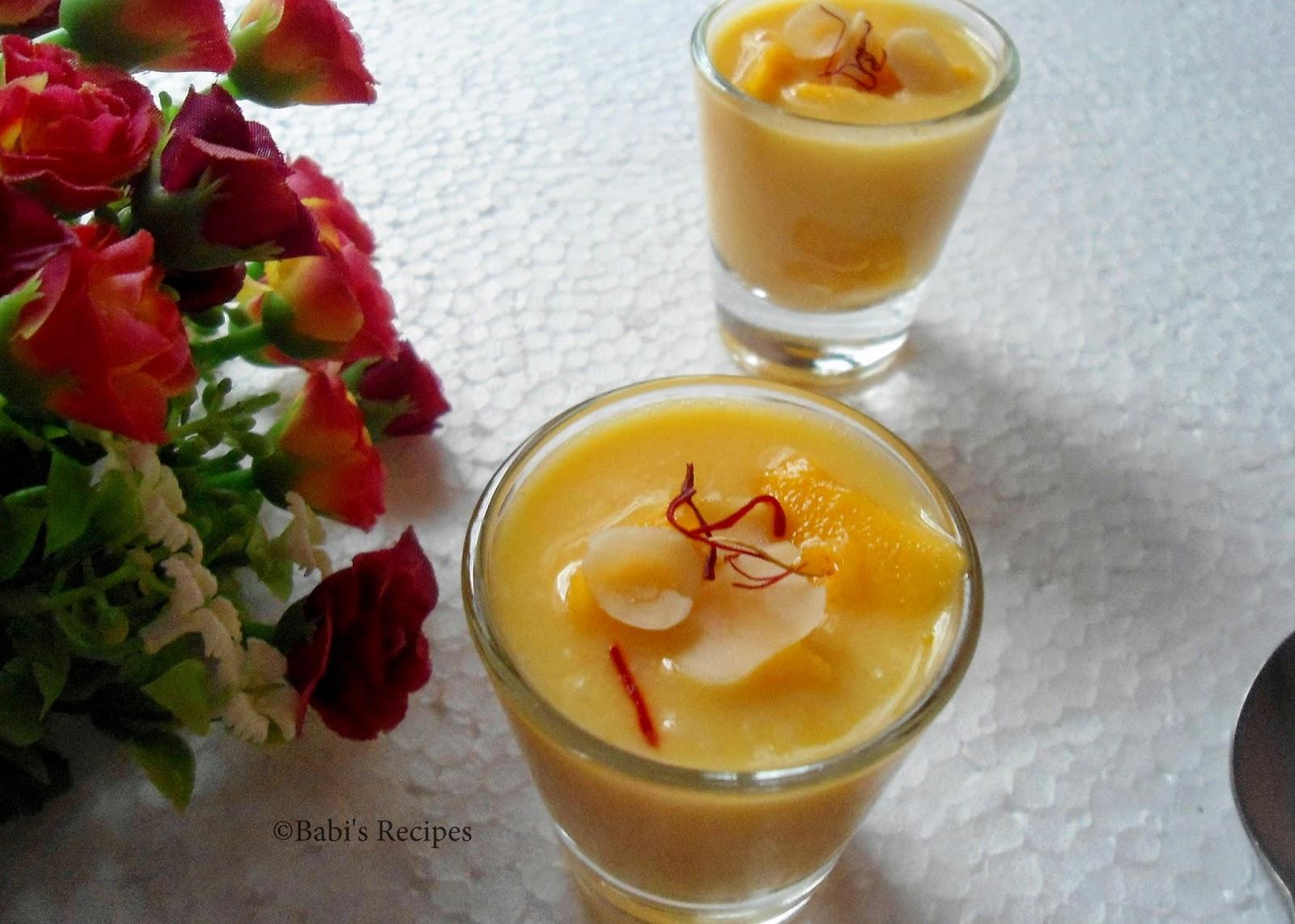mango phrini