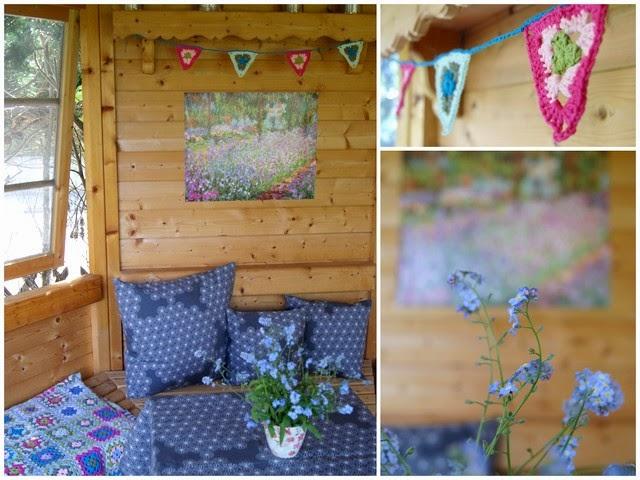 Filz und Garten: Pimp my Gartenhaus