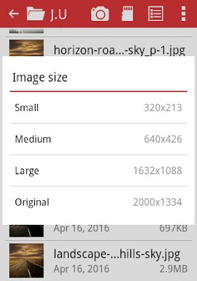Opera Mini Upload Image Compression