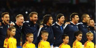 Pemain Sepak Bola, Lagu Kebangsaan