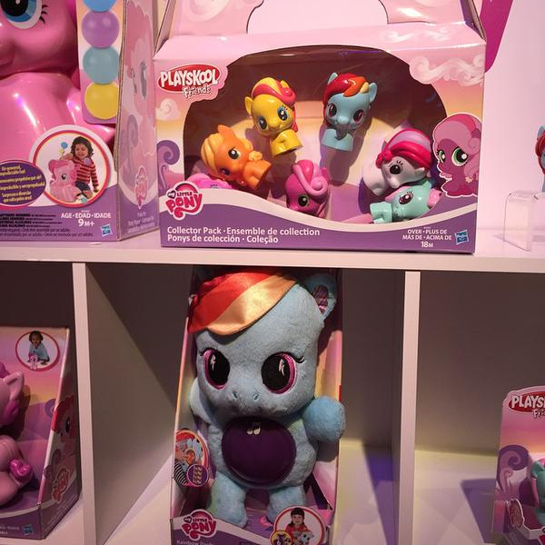 My Little Pony Playskool Friends at NY Toy Fair 2015