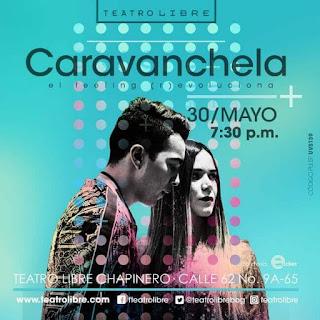 Concierto de CARAVANCHELA en Bogotá 2019 - 2