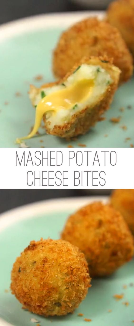 Mashed Potato Cheese Bites #mashed #potato #cheese #bites #tasty #tastyrecipes #delicious #deliciousrecipes