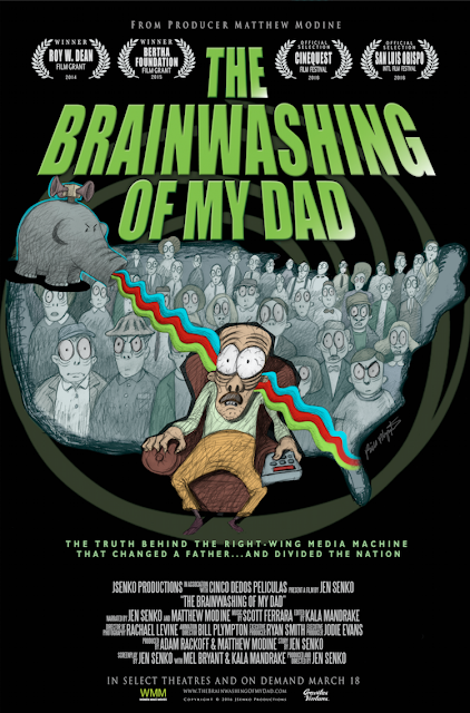 """The Brainwashing of My Dad"" - Poster"