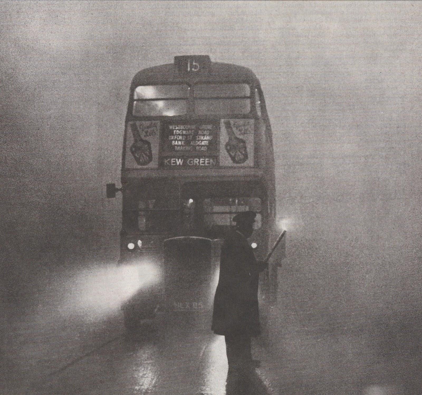 Resultado de imagen de niebla en londres 1952