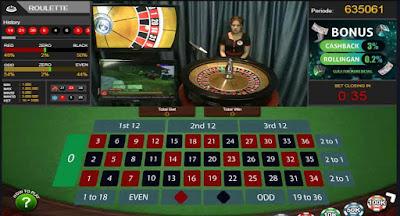Cara Main Live Casino Roullete QBet99.info