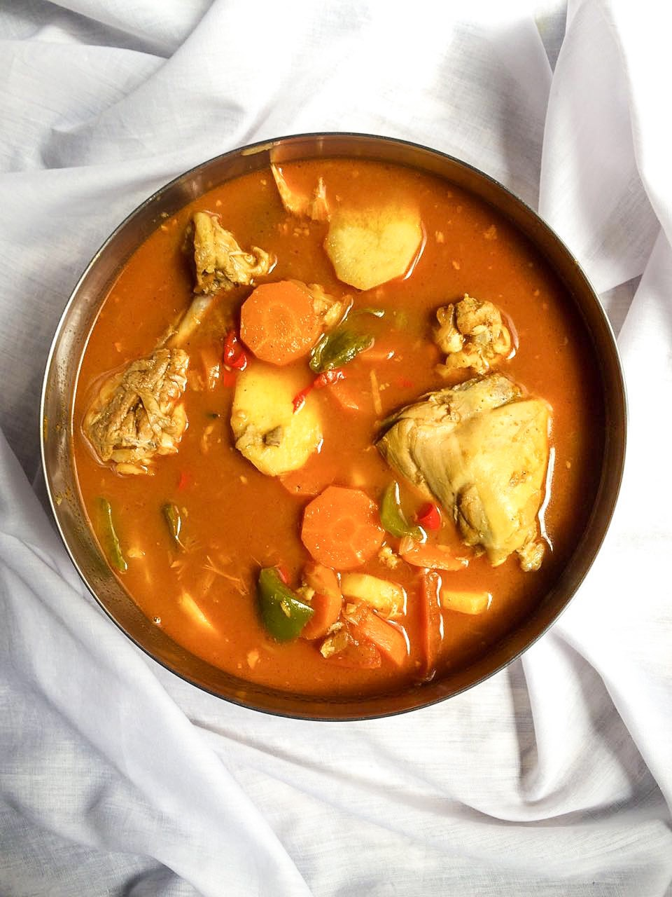 Dejaj Salona | Emirati Chicken Stew