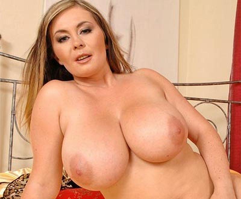 Big bulging boobs in the world
