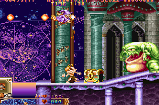 Three Wonders Stage 5 Witch Screenshot