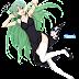 Tags: Render, Armpit, Dress, Full body, Green hair, High heels, Higurashi no Naku Koro ni, Large Breasts, Long hair, Sonozaki Shion, Stockings, Thigh Highs, Very long hair