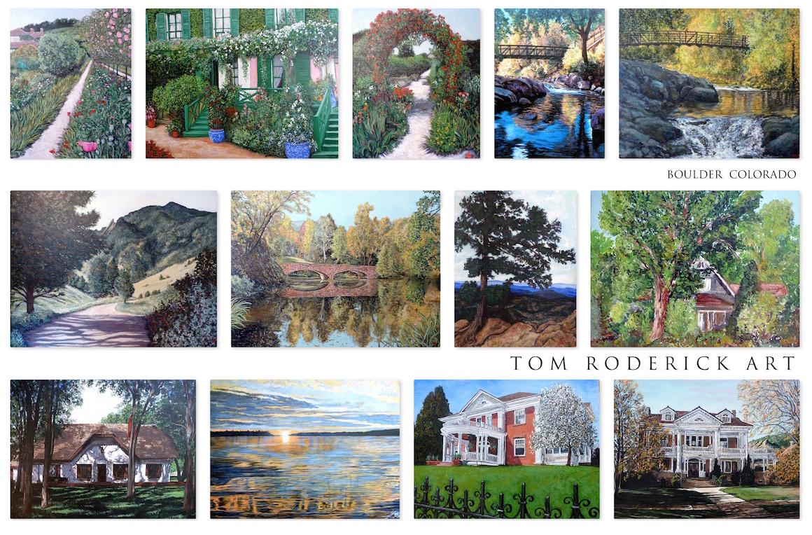 Landscape Art by Boulder artist Tom Roderick