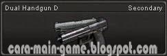 Senjata Point Blank Dual Handgun D