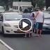 Watch video ng babaeng nanduro at nanampal sa matandang taxi driver nag  VIRAL