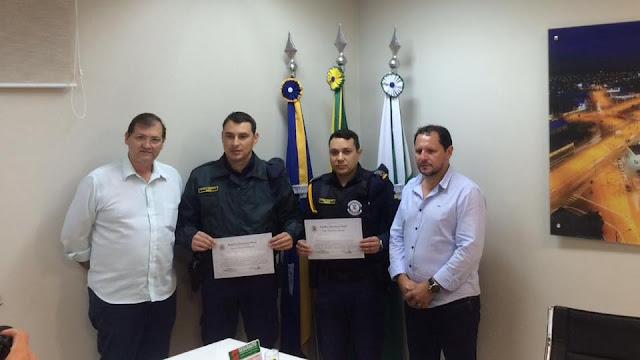 Guarda Municipal de Arapongas (PR) é homenageada com Moção de Aplausos