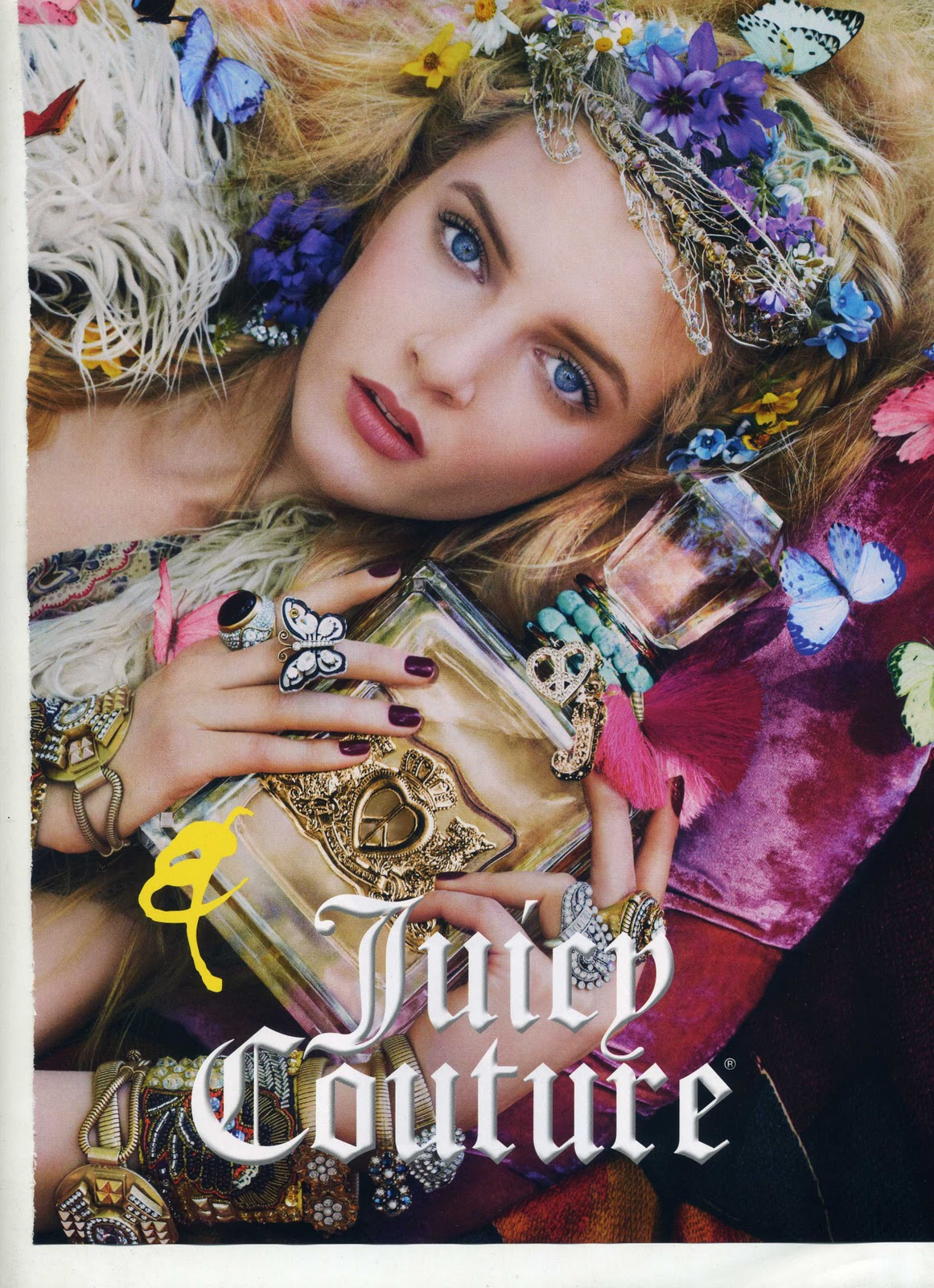 Juicy Couture Ad Campaigns   How to be lovely