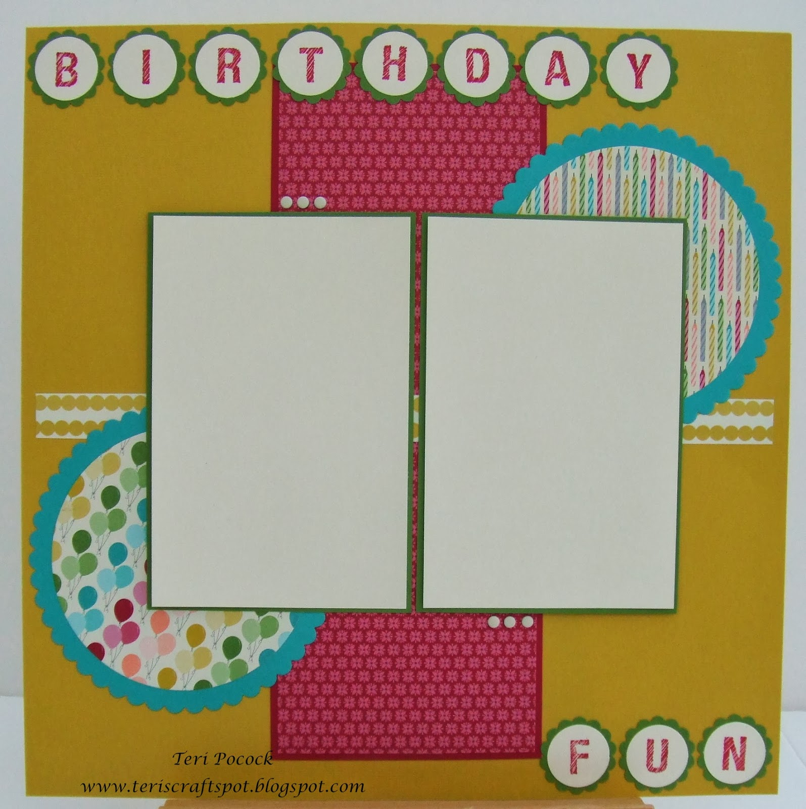 Stampin' Up! UK Demonstrator - Teri Pocock: Birthday Basics