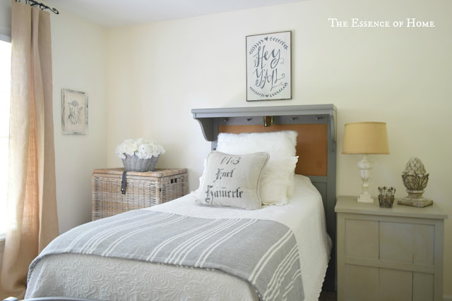 French Farmhouse Guest Room for One