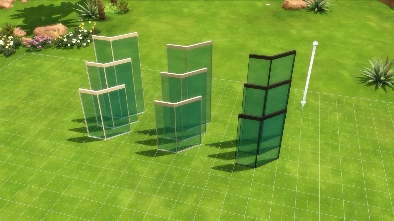 My Sims 4 Blog Ultra Glass Fence Set By Maloverci